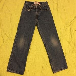 High rise Levi's jeans